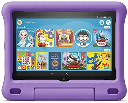 Amazon Kid-Proof Case for Fire HD 8 tablet (Only compatible with 10th generation tablet, 2020 release) Purple