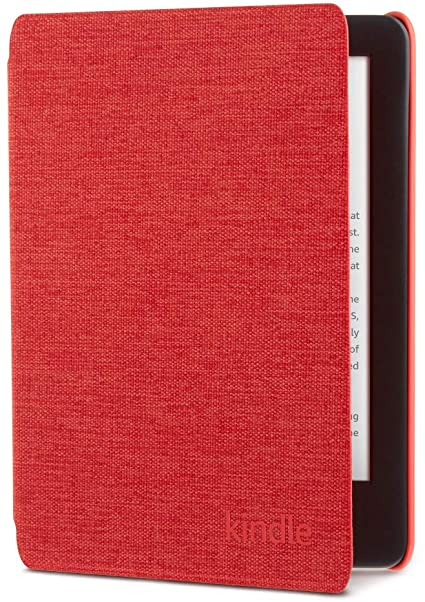 Kindle Fabric Cover - Punch Red (10th Gen - 2019 release only—will not fit Kindle Paperwhite or Kindle Oasis)